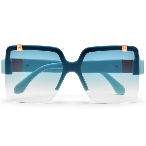 Square Rimless Oversized Sunnies