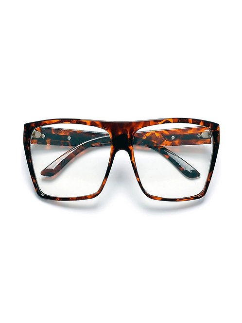 Oversized Square Flat Top Frame