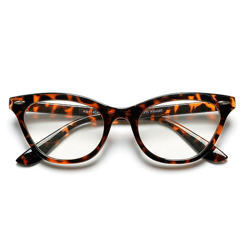Glam 50MM CAT EYE SHAPED CLEAR LENS