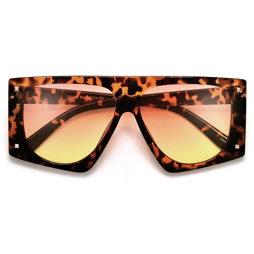 Bold Studded Accent Oversized Sunnies