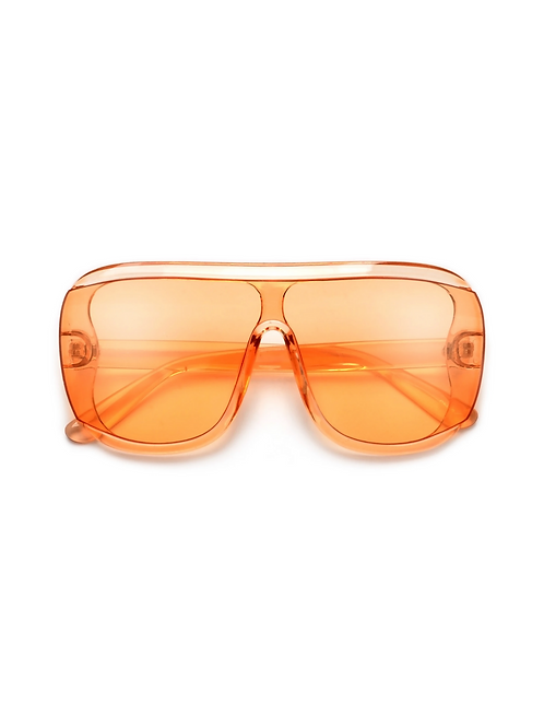 Bold Oversize Coverage Sunglasses