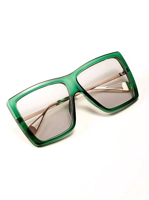 Bold Green Oversized Chic Frame