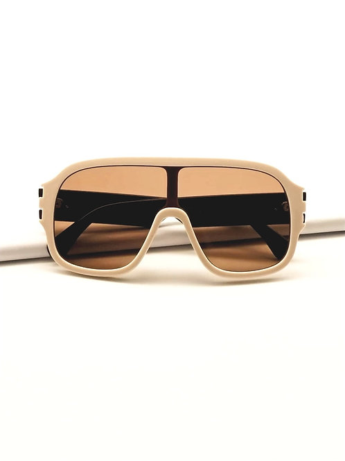 Chic Oversized Flat Top Sunnies