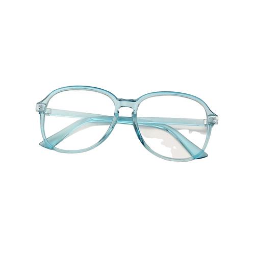 Crystal Blue Clear Eyewear