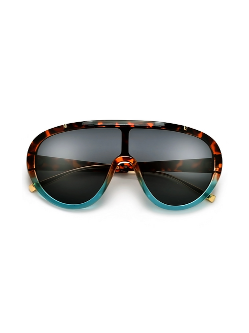 Oversize Sleek Full Shield Coverage Sunglasses