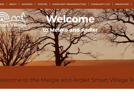 Meigle and Ardler Smart Village launches