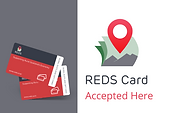REDS card accepted here!