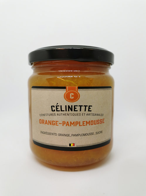 Confiture d'orange pamplemousse