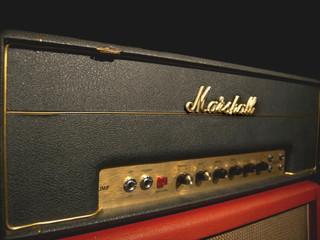 Marshall JMP 50 Watts Metal Panel 1969 with original Cab