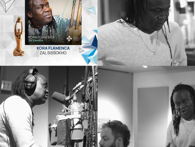 Zal Sissokho - ADISQ 2020 - Simon Walls - Kora Flamenca