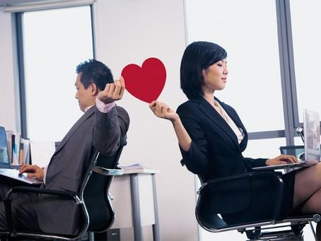 ¿Cómo manejar el amor en el trabajo?