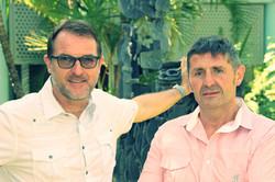 Dr Menguy et Dr Cazeres