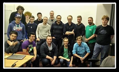 The Adamant Development Team (has been expanding since)