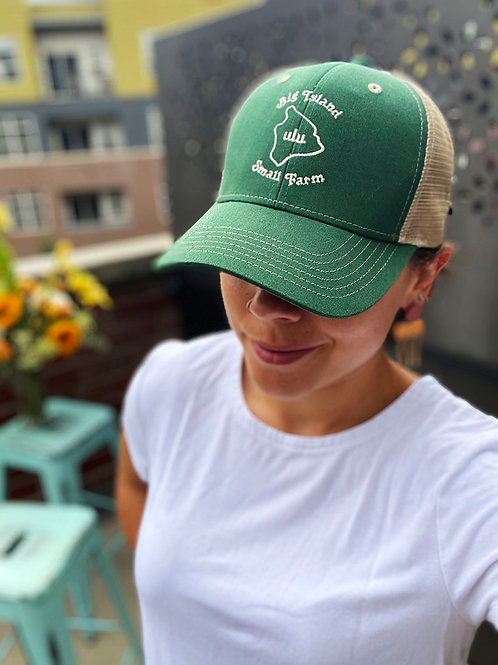Big Island Small Farm Trucker Hat