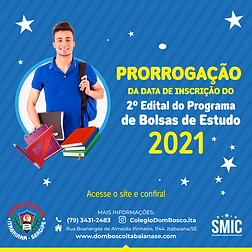Prorrogação Bolsa de estudos 2021_Pranch