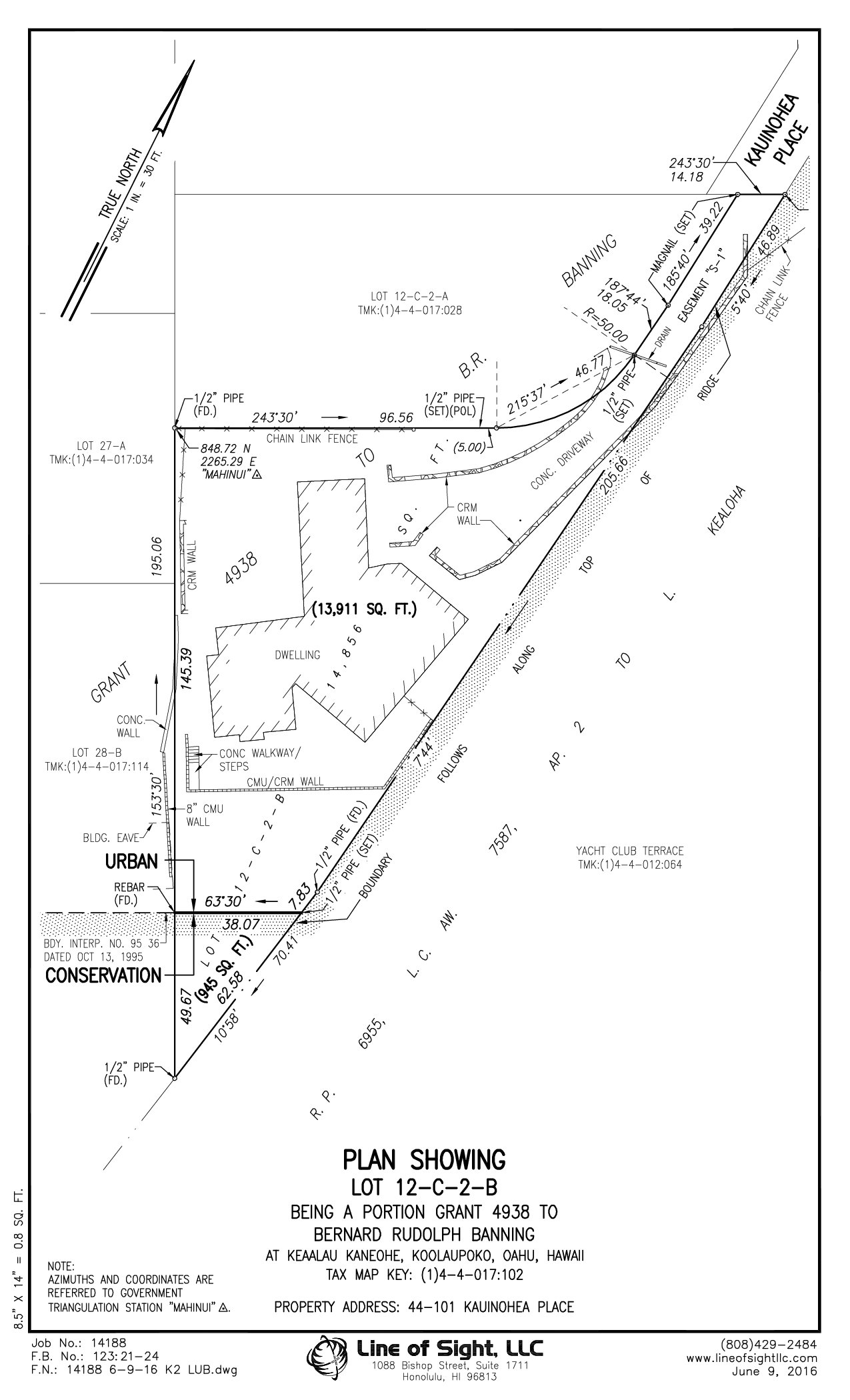 Land Use Boundary Map