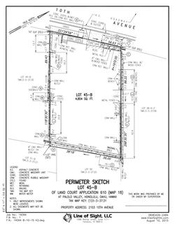 Real Estate (K2) Perimeter Sketch