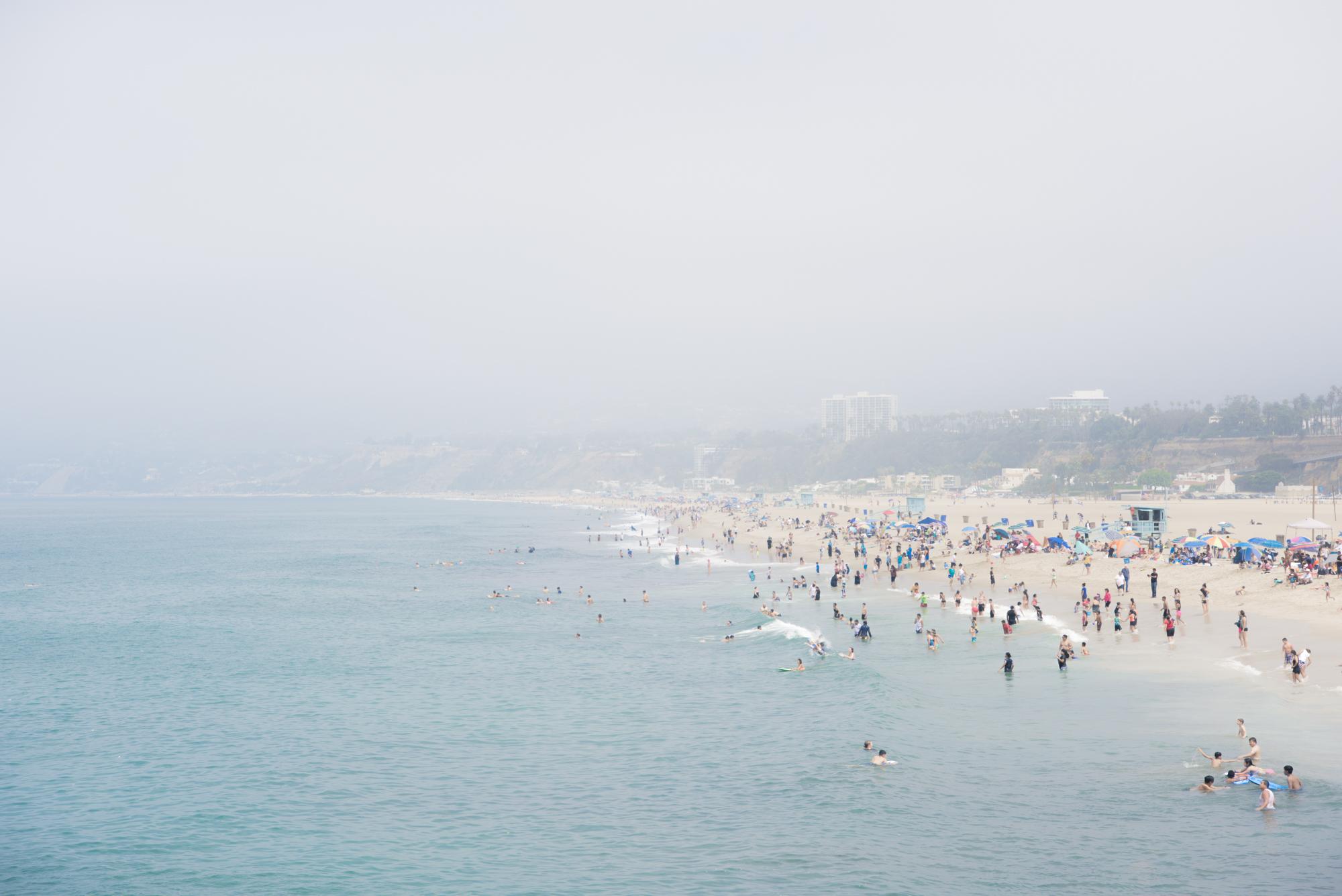 beach, Santa Monica