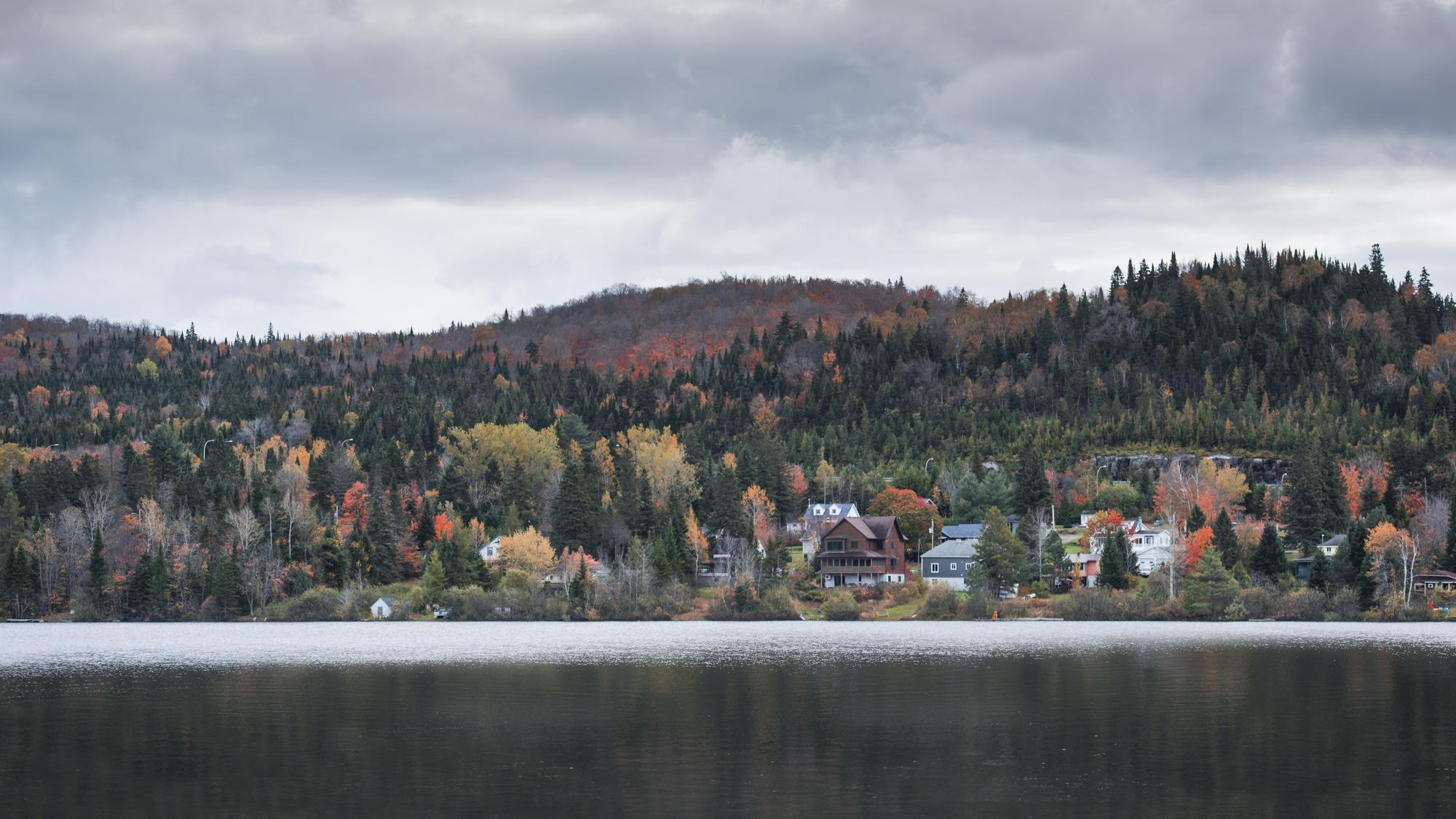 Quebec in autumn