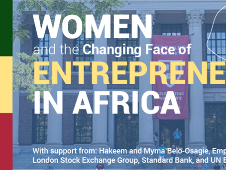 Recordings: Women and the Changing Face of Entrepreneurship in Africa
