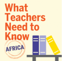 The podcast offers vital insight for understanding the continent so that teachers can facilitate deeper learning about the world with their students.