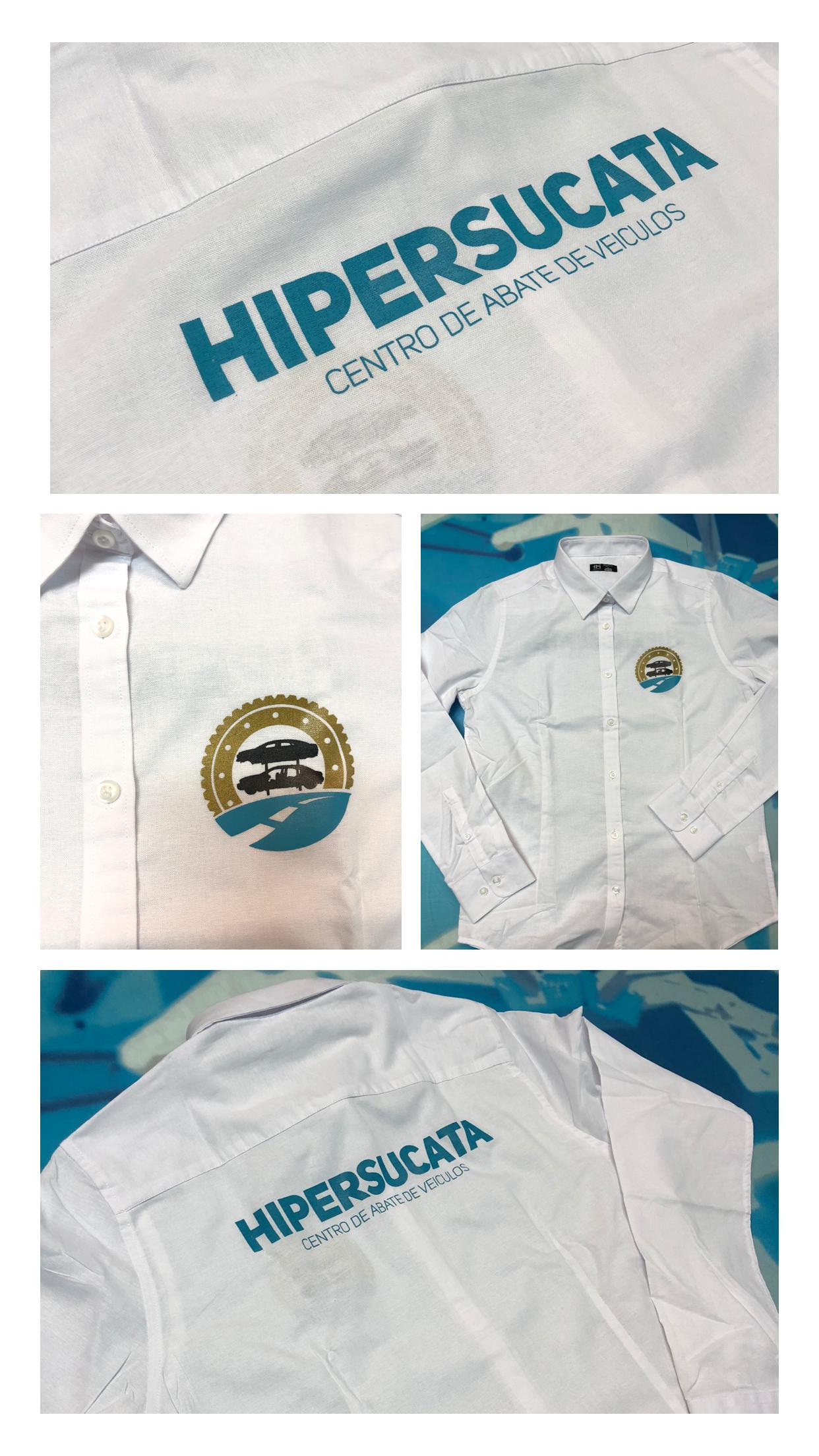 Personalização Camisas