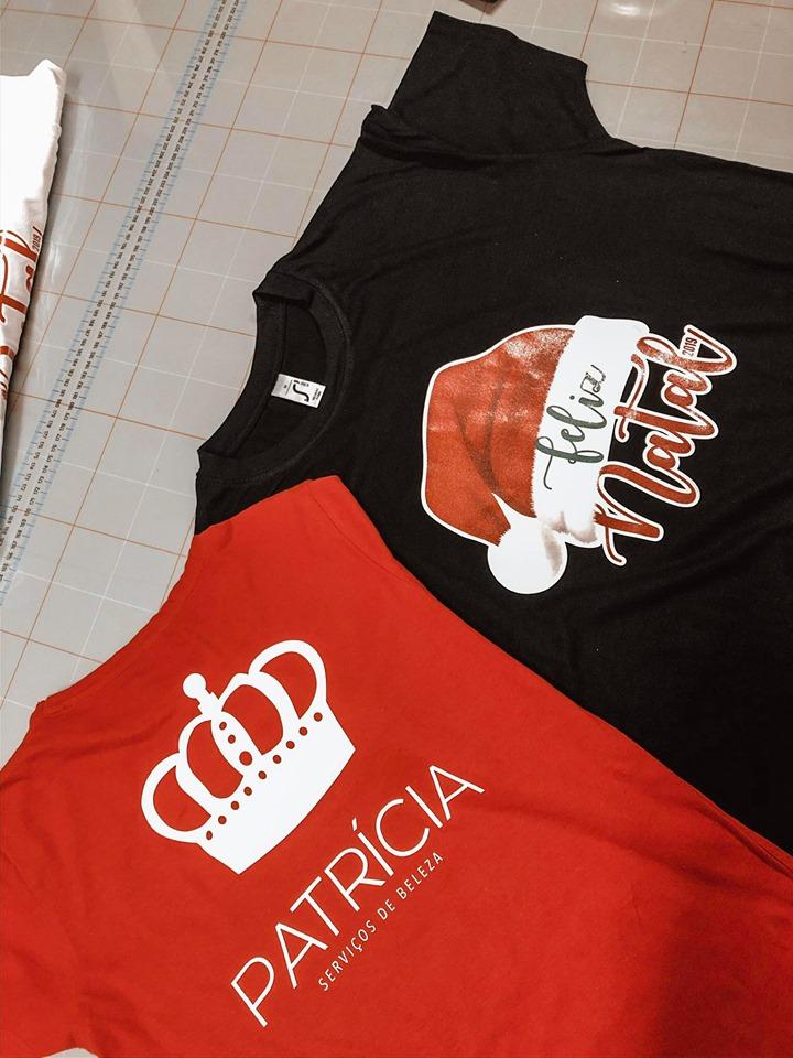 Personalização T-shirts