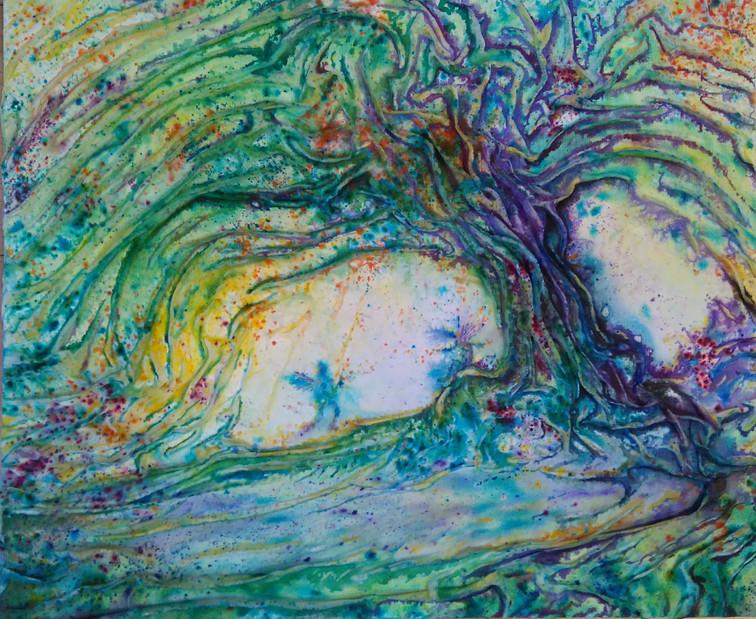 Magic neath the Willow tree