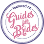 featured on guides for brides badge