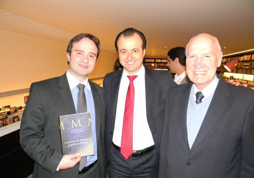 Cristiano Barros, Rogério Cury e Dr. Malheiros.