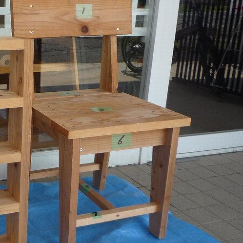 DIY 木製椅子