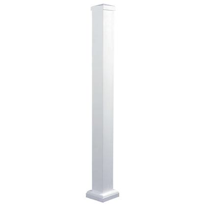 Aluminum Deck & Stair Posts (White)
