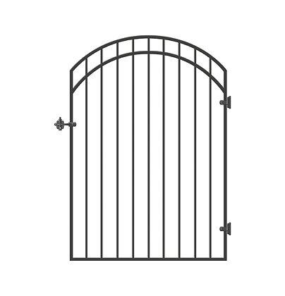 Ornamental Iron Gate - Garnet