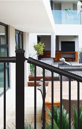 Aluminum Stair Railing Kit (Black)