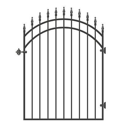 Ornamental Iron Gate - Diamond