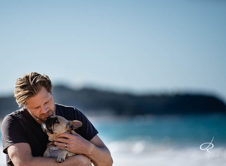 Pet Photography at Narrabeen with Luna - What a cutie!