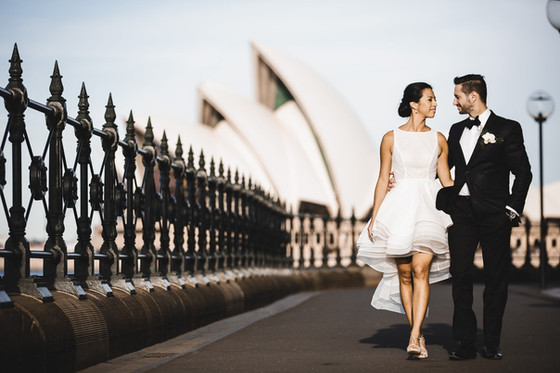 Sydney Opera House Wedding - Valerie and Jean Sebastian