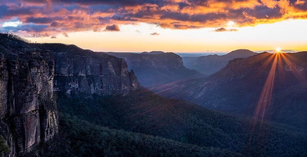 Govett's Leap Blue Mountains Sunrise