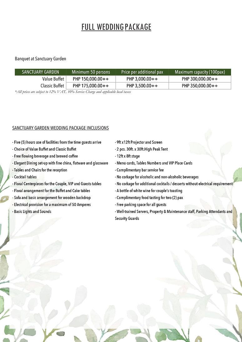 Sanctuary Garden Full Wedding Package.jp