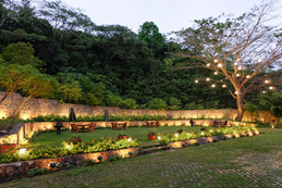 Elevated Area at Sanctuary Garden