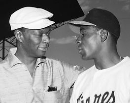 Nat King Cole and Orestes Minoso