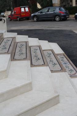 Escalier crématorium Marseille