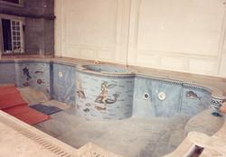 piscine_intèrieure.Décors_en_tesselles_de_marbre_polies.