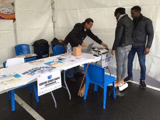 Le Centre Sport-Santé de Fontainebleau présent au Téléthon organisé par l'hôpital de Melun.
