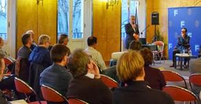 Très belle réussite pour le colloque et les ateliers organisés à Fontainebleau.