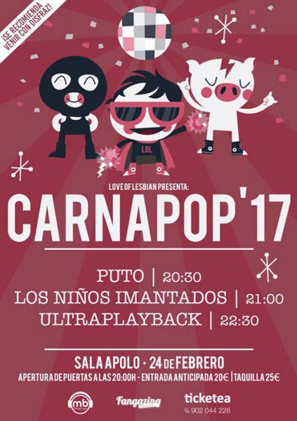 carnapop 2017 Love of Lesbian