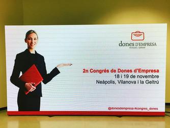 2º CONGRESO DE MUJERES DE EMPRESA EN VILANOVA Y LA GELTRÚ
