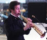 Saxophoniste jazz live mariage île de France