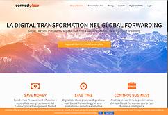 Coneect Place website printscreen