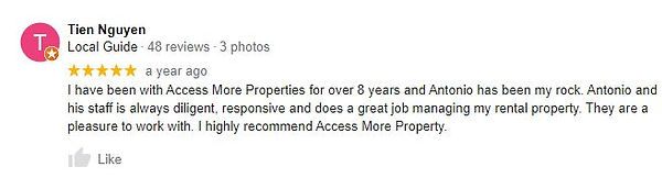 Access More Property Management - Antonio D'Alberto